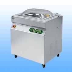 Samostojeće vakumirke s komorom  EPA 500-S -dimenzije: 840x680x1050 -dimenzije komore: 720x570x220 -širina varilice: 2x550 mm -vakum pumpa: Q= 60 m3/h -težina: 160 kg -napajanje: 380 V/50 Hz  -materijal: inox