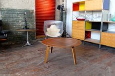 HERMAN MILLER EAMES PLYWOOD COFFEE TABLE AUTHENTIC WALNUT
