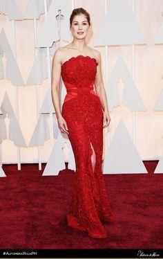 Rosamund Pike - Givenchy Haute Couture - El Palacio de Hierro - #AlfombraRojaPH #Oscars2015