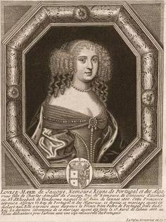 Marie-Françoise de Savoie-Nemours, reine de Portugal