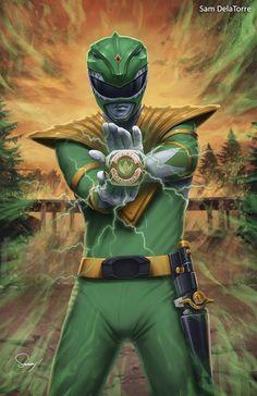 Power Rangers - Green Ranger by SamDelaTorre