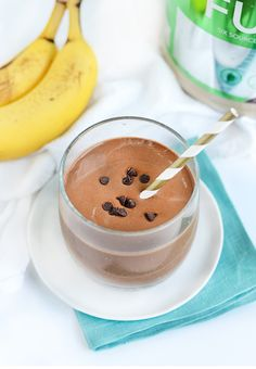 Start your day off right with this Chocolate Brownie Batter Protein Shake recipe