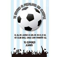 Resultado de imagen para invitaciones para fiesta infantil de futbol cecda8c11f3e4
