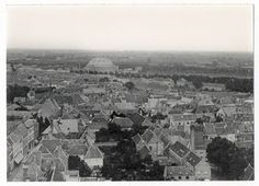 Zicht vanaf de grote kerk 1922
