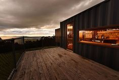 """Check out this awesome listing on Airbnb: """"the container"""" - eco-luxe-recycled - Cabins for Rent in Lilydale"""