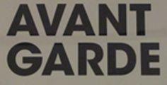 Avant Garde type poster #typography