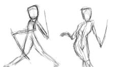 Sketches done in photoshop
