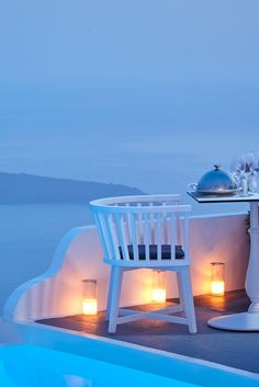 Book ahead for Chroma Up Style Dining Restaurant (it's worth it). Chromata Style Up Hotel (Santorini, Greece) - Jetsetter