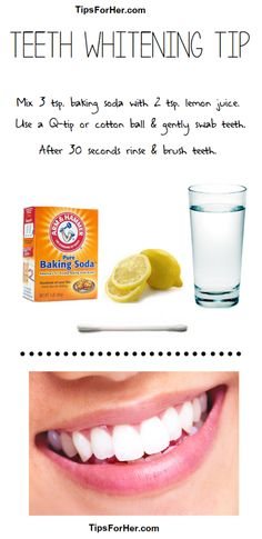 Simple Teeth Whitening Tip :)