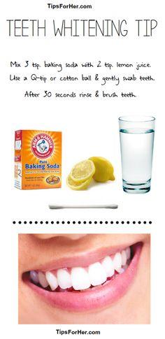 Simple Teeth Whitening Tip