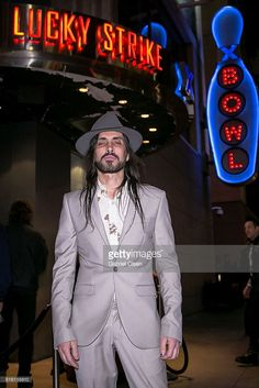 Nuno Bettencourt arrives for Lucky Strike Live presents Soundcheck Live at Lucky Strike Live on March 16, 2016 in Hollywood, California.