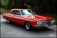 1964 Plymouth Sport Fury  426/425 HP, 4-Speed