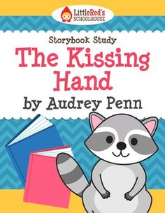 I happen to have this book in French — The Kissing Hand by Audrey Penn Story Study School Age Activities, Preschool Lessons, School Themes, Hands On Activities, Book Activities, School Ideas, Beginning Of The School Year, First Day Of School, Teaching Reading