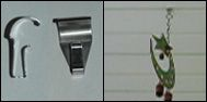 JMT Home Products - No Hole Vinyl Hook This product is great, no holes in your siding!