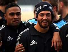 Rene Ranger Photos - New Zealand All Blacks Training Session - Zimbio