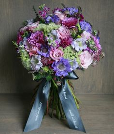 Beautiful vintage bouquet by Wild at Heart
