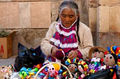 Hand-crafted goodies in Mexico