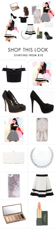 """""""Arianna inspired"""" by kiki-167 on Polyvore featuring Lipsy, Dolce&Gabbana, Nly Shoes, Deux Lux, Skinnydip, Urban Decay and MAC Cosmetics"""
