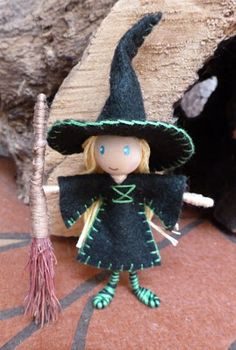 The Enchanted Tree: bendy dolls