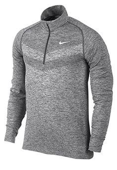 NIKE Nike Men'S Dri-Fit Long Sleeve Half-Zip Top. #nike #cloth #