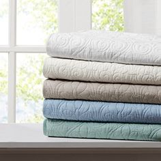 The Quebec Oversized Quilted Throw by Madison Park brings a gentle air of subtle sophistication to any room of your home. The subtle quilted design. Quilted Throw Blanket, Throw Blankets, Throw Pillow, Bed Throws, Space Furniture, Bed Spreads, Decoration, Home Decor, Fill