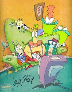 Rocko's Modern Life: Nickelodeon Special Reunites the Original Voice Cast - canceled + renewed TV shows - TV Series Finale Cartoon Photo, Cartoon Kids, 90s Childhood, My Childhood Memories, Old Cartoons, Classic Cartoons, Rocko's Modern Life, Nickelodeon Shows, Tv Tropes