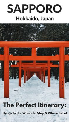 Best things to do in Sapporo (Hokkaido Japan) where to stay, where to eat for the best 2 days in Sapporo
