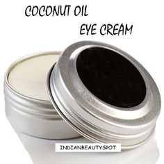 coconut oil eye cream for dark circles and fine lines
