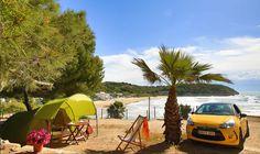 Campingplatz TORRE DE LA MORA, Tarragona, Bungalows, ACSI camping bis 21/06