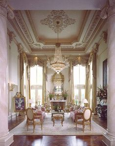 Home Design Drawings Drawing room - Room Setting Louis XV Luxury Homes Interior, Luxury Home Decor, Home Interior Design, Interior Decorating, Interior Plants, Deco Rose, Decoration Bedroom, Classic Interior, French Decor