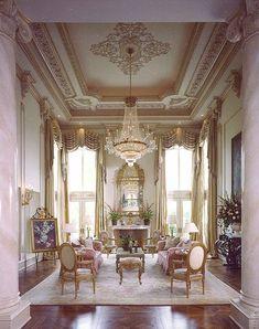 Drawing room - Room Setting Louis XV | via Mastour Galleries - #Drawing #Galleries #Louis #Mastour #room #setting #XV