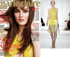 Leighton Meester for Marie Claire Magazine in Reed Krakoff