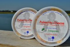 Palmetto cheese recipe -1 pound cheddar, 1 pound monterrey jack, 2 blocks cream cheese, 1 cup mayo, worchestershire, pepper, garlic powder = 10 cups pimiento cheese (a LOT - for a party). Best Pimento cheese!