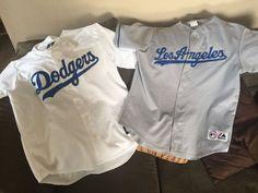 Matt Kemp Brad Penny Dodgers Replica Jerseys Majestic XL & L Scully LA '88 in | eBay