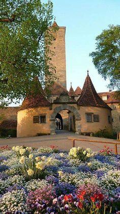 Burgtor, Rothenburg ob der Tauber