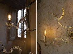 Chandelier and wall lamp: Ghebo by Karman