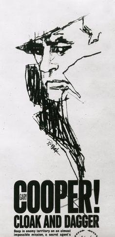 Drawings by Bob Peak...