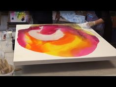Learn Resin Art. Solid Solutions products featured on Colour In Your Life with Judy Waters - YouTube