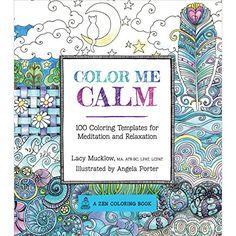 Farbbücher für Erwachsener - beruhigen - wirken therapeutisch - wie eine Meditation. Bei Amazon.de zu kaufen. Color Me Calm: 100 Coloring Templates for Meditation and Relaxation (Zen Coloring Book) von Lacy Mucklow http://www.amazon.de/dp/1937994775/ref=cm_sw_r_pi_dp_eRQJvb1M3Z3SB
