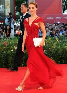 little black sequin: fashion icon: Natalie Portman
