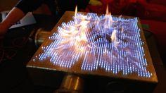 Pyro Board: 2D Rubens' Tube!