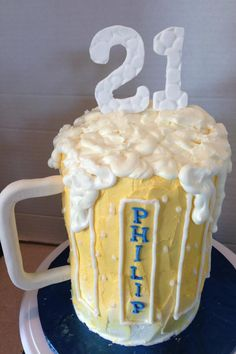 Philips 21st birthday cake