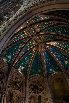 Ceiling - Manchester Town Hall - England