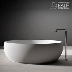 Copenhagen Bath - Rosenborg bathtub