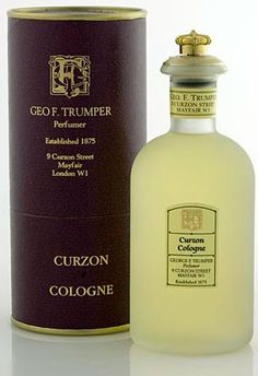 Curzon Cologne by Geo. Trumper is a Chypre fragrance for men. Curzon Cologne was launched in The fragrance features bergamot, oakmoss, french l. Best Perfume For Men, Best Fragrance For Men, Best Fragrances, Patchouli Perfume, Perfume And Cologne, Men's Cologne, Aftershave, Glass Bottles, Perfume Bottles