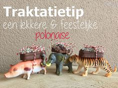 A festive polonaise, made of small Action animals with a disco dip Mily Way o .- Een feestelijke polonaise, van kleine Actiondiertjes met een discodip Mily Way o… A festive polonaise, of small Action animals with … - Birthday Treats, Party Treats, Party Snacks, 2nd Birthday, Birthday Parties, School Treats, Kids Corner, Childrens Party, Animal Party