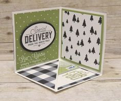 Corner Pop Up Gift Card Holder - Lisa& Stamp Studio - Cards and Paper Crafts - Gift Cards Money, Itunes Gift Cards, Cash Gifts, Fancy Fold Cards, Folded Cards, Christmas Gift Card Holders, Christmas Cards, Christmas 2019, Stampin Up