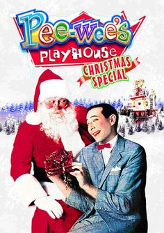 Pee-wee's Playhouse: Christmas Special - Amid an avalanche of stars, Pee-wee straps on his ice skates and glides into the holiday season with Christmas cards, carols . and Charo. Pee Wee Herman, Christmas Cards To Make, Christmas Movies, Holiday Movies, Celebrating Christmas, Christmas Stuff, Christmas Eve, Vintage Christmas, Christmas Crafts