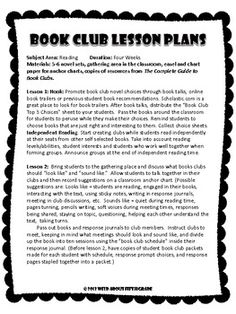 COMPLETE GUIDE TO BOOK CLUBS IN THE UPPER ELEMENTARY & MIDDLE SCHOOL CLASSROOM - TeachersPayTeachers.com