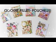 GOODIE SHAKER FILLED POCKETS. - YouTube Pen Pal Letters, Pocket Letters, Card Making Tutorials, Craft Tutorials, Snail Mail Pen Pals, Pocket Scrapbooking, Shaker Cards, Scrapbook Embellishments, Card Tags